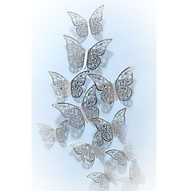 Dekorativne zidne naljepnice - 3D zidne naljepnice / Zidne naljepnice ogledala Životinje / 3D Unutrašnji / Dječja soba