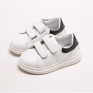 7ce86ccc26cc5 Garçon   Fille Chaussures Faux Cuir Printemps Confort Chaussures  d Athlétisme pour Bébé Noir   Rose