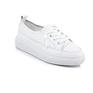 Amichevole Per Donna Nappa Estate Sneakers Polacche Bianco #07025982 Alleviare Il Caldo E Il Colpo Di Sole