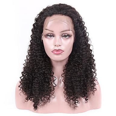 halpa Aitohiusperuukit verkolla-Remy-hius Lace Front Peruukki Bob-leikkaus tyyli Brasilialainen Kinky Curly Peruukki 130% Hiusten tiheys Paras laatu Tulokas kuuma Myynti Naisten Keskikokoinen Aitohiusperuukit verkolla Laflare