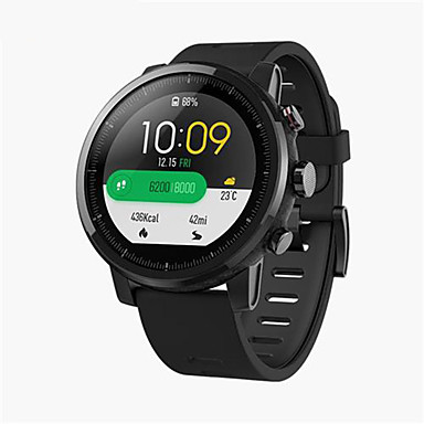 "cheap Smartwatches-Xiaomi Huami Amazfit 2 Smartwatch GPS Heart Rate Monitor 512MB/4GB Waterproof 1.34"" 2.5D Screen Sports Watch Global Version"