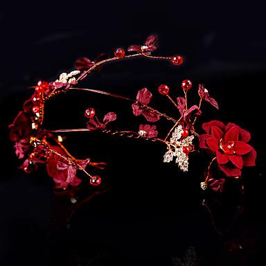 Platno s Crystal / Rhinestone / Cvijet 1 komad Vjenčanje / Zabava / večer Glava
