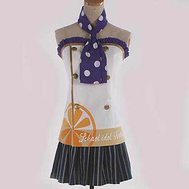 Inspirirana Ljubav uživo Cosplay Anime Cosplay nošnje Japanski Cosplay Suits Uzorak Suknja / Luk / More Accessories Za Muškarci / Žene