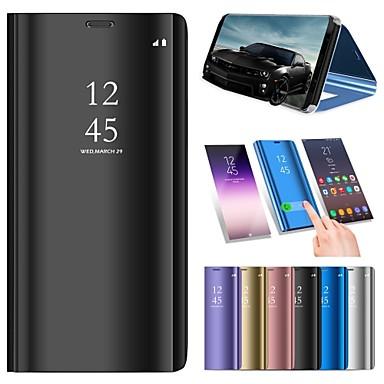 halpa iPhone kotelot-Etui Käyttötarkoitus Apple iPhone XS / iPhone XR / iPhone XS Max Tuella / Pinnoitus / Peili Suojakuori Yhtenäinen Kova PU-nahka