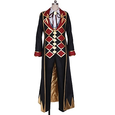 Inspirirana Cosplay Cosplay Anime Cosplay nošnje Japanski Cosplay Suits Jedna barva / Other / Geometic Kravata / Other / Top Za Uniseks