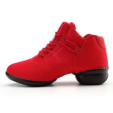 Abile Per Donna Sneakers Da Danza Moderna Retato Sneaker Piatto Personalizzabile Scarpe Da Ballo Rosso #07180683