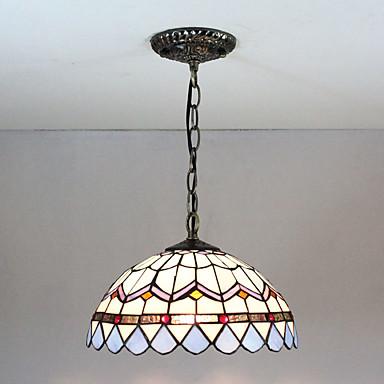 sputnjik Privjesak Svjetla Ambient Light Slikano završi Glass Glass Višebojno sjenilo, Kreativan 110-120V / 220-240V