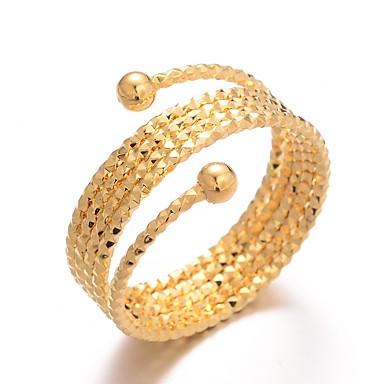 voordelige Ring-Dames Klassiek Ring Verstelbare ring обернуть кольцо Verguld Dames Luxe Hyperbool Modieus Modieuze ringen Sieraden Goud Voor Bruiloft Lahja