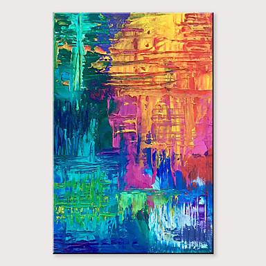 Hang oslikana uljanim bojama Ručno oslikana - Sažetak Klasik Moderna Bez unutrašnje Frame / Valjani platno