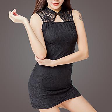 Fashion Style Per Donna Uniformi E Abiti Tradizionali Cinesi Indumenti Da Notte - Tagliato Jacquard #07051806 Lustro Incantevole