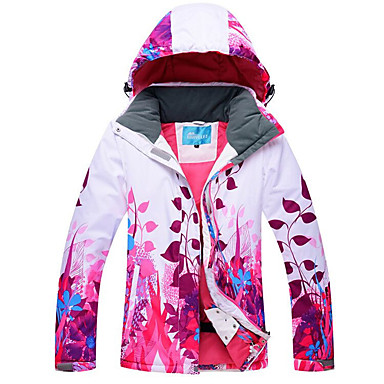 ff17fd77ef RIVIYELE Men s Women s Ski Jacket Windproof Warm Breathability Camping    Hiking Winter Sports POLY Chinlon Silk