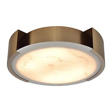 QIHengZhaoMing 6-Light Flush Svjetla Ambient Light Electroplated Metal Mramor 110-120V / 220-240V Meleg fehér