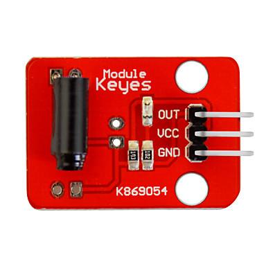 voordelige Elektrische apparatuur & benodigdheden-virbration switch module (rood) pin headers