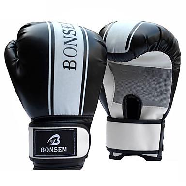 قفازات التمرين / قفازات ملاكمة الحقيبة / قفازات تمرين الملاكمة إلى الملاكمة, رياضة وترفيه, Fitness, مواي تاي اصبع كامل مقاوم للماء,   قابل للبسط, واقي PU أسود / أحمر