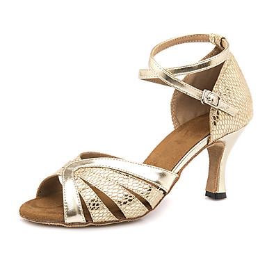 7ddd643801 cheap Dance Shoes-Women's PU(Polyurethane) Latin Shoes Heel
