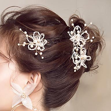 Umjetno drago kamenje Ukosnica s Cvijet 1 kom. Vjenčanje / Special Occasion Glava