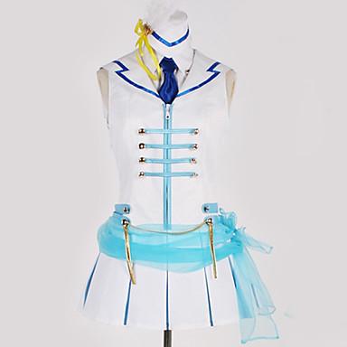 Inspirirana Ljubav uživo Cosplay Anime Cosplay nošnje Japanski Cosplay Suits Art Deco / Suvremeno Suknja / More Accessories / Kravata Za Muškarci / Žene