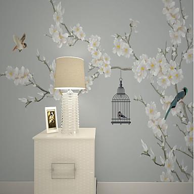 tapeta / Mural Platno Zidnih obloga - Ljepila potrebna Cvjetni print / Uzorak / 3D