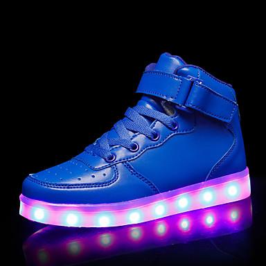 Dječaci / Djevojčice Svjetleće tenisice Sintetika Sneakers Dijete (9m-4ys) / Mala djeca (4-7s) / Velika djeca (7 godina +) LED Obala / Pink / Navy Plava Jesen zima / Guma