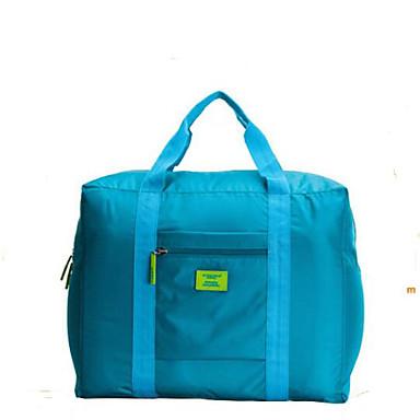 Недорогие Функциональные сумки-Универсальные Молнии Сумка для ручной клади Нейлон Морской синий / Красный / Синий