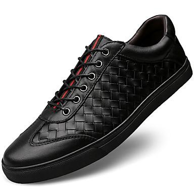 c5b1f0ddc7 Ανδρικά Δερμάτινα παπούτσια Νάπα Leather Άνοιξη   Χειμώνας Αθλητικό    Καθημερινό Αθλητικά Παπούτσια Διατηρείτε Ζεστό Μαύρο