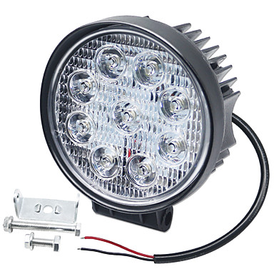 cheap Vehicle Working Light-SO.K 1 Piece Car Light Bulbs 27 W Integrated LED 6000 lm 9 LED Fog Light / Daytime Running Light / Turn Signal Light For universal All years
