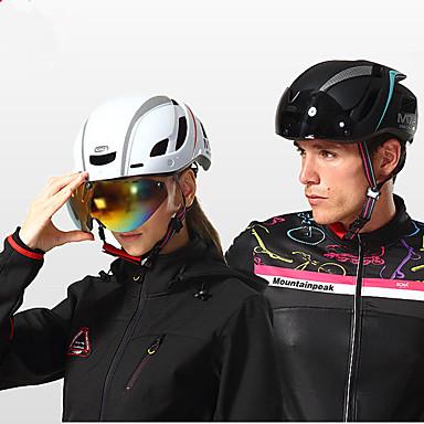 billige Hjelmer-Mountainpeak Voksne sykkelhjelm BMX Hjelm 13 Ventiler Integrert støpt Lettvekt ESP+PC sport Skøyting Sykling / Sykkel Sykkel - Rød Grønn / Svart Svart / Blå Herre Dame Unisex