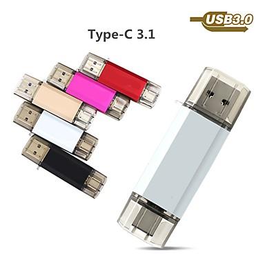 abordables Cartes Mémoire & Clés USB-Ants 64Go clé USB disque usb USB 3.0 / Type-C Carcasse de métal Irrégulier Couvres