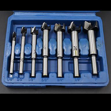 7 pcs Fúróberendezés Kényelmes Könnyű összeszerelés Factory OEM 7PC Alkalmas elektromos fúrókhoz Alkalmas más elektromos szerszámokhoz