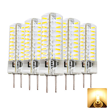5pcs 4 W 300-400 lm GY6.35 Ampoules Maïs LED T 80 Perles LED SMD 4014 Adorable Blanc Chaud / Blanc Froid 220-240 V