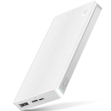 billige Eksterne batterier-xiaomi zmi 10000 mah power bank eksternt batteri 10000mah powerbank bærbar lading type-c toveis hurtig ladning 2,0 for telefon