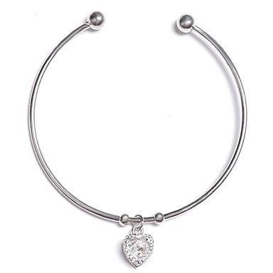 abordables Bracelet-Manchettes Bracelets Femme Le style rétro Elégant simple Bracelet Bijoux Argent Or Rose pour Vacances Travail Festival