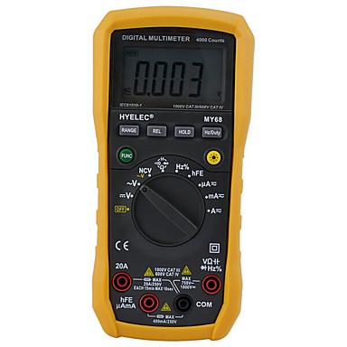 voordelige Test-, meet- & inspectieapparatuur-hyelec peakmeter my68 duty cycle tester digitale multimeter