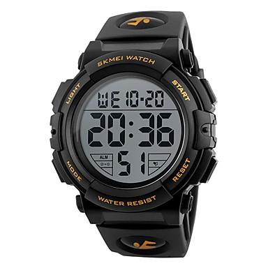db0ad1c7e6d8d رجالي ساعة رياضية ساعة رقمية رقمي جلد اصطناعي أسود   أخضر مقاوم للماء  رزنامه الكرونوغراف رقمي كاجوال موضة - أحمر أخضر أزرق   قضية   طرد كبير
