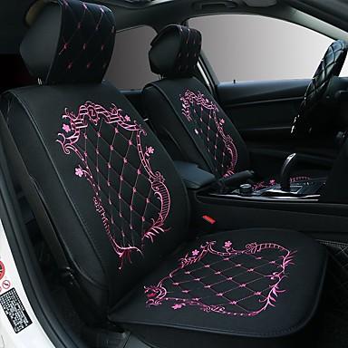 voordelige Auto-interieur accessoires-ODEER Auto-stoelkussens Zitkussens Zwart / Roze / Zwart Gold / Zwart / Wit tekstiili Standaard Voor Universeel Alle jaren Alle Modellen