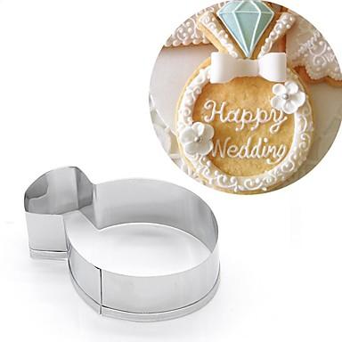 economico Cucina e utensili da cucina-Strumenti Bakeware Acciaio inossidabile Natale Cucina creativa Gadget Compleanno Pane Torta Biscotti Con animale Stampi per torta 1pc
