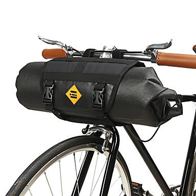 abordables Sacoches de Vélo-B-SOUL 12 L Sacoche de Guidon de Vélo Etanche Portable Vestimentaire Sac de Vélo TPU Cuir Térylène Sac de Cyclisme Sacoche de Vélo Cyclisme Activités Extérieures Trail