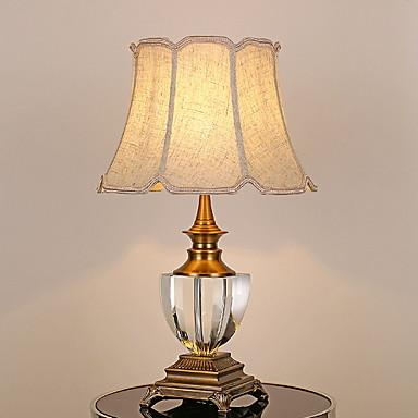 Moderne contemporain Décorative Lampe de Table Pour Chambre à coucher Métal 220V