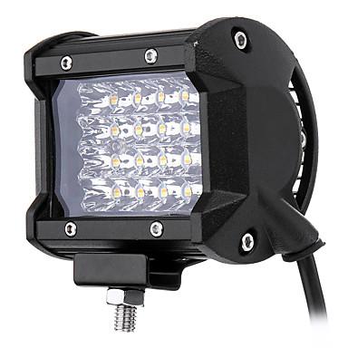 1 ชิ้น การเชื่อมต่อสายไฟ รถจักรยานยนต์ / รถยนต์ Light Bulbs 96 W 7600 lm 24 LED ไฟตัดหมอก / ไฟคาดหัว สำหรับ รถ Jeep ทุกปี