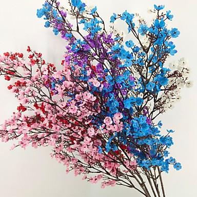 Fleurs artificielles 1 Une succursale Classique Moderne Gypsophila Fleur de Table