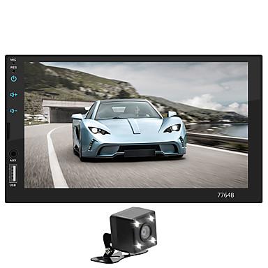 tanie Samochód Elektronika-SWM 7764+4LED camera 7 in 2 DIN Samochodowy odtwarzacz multimedialny / Samochodowy odtwarzacz MP5 / Samochodowy odtwarzacz MP4 Ekran dotykowy / MP3 / Wbudowany Bluetooth na Univerzál Wsparcie MPEG