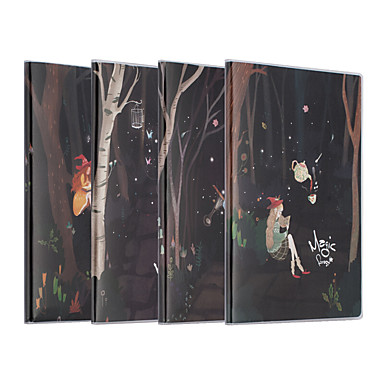 4 Pacco M&g Hapy0261 Notebook Per Legare I Fili 72 Lenzuola A5 #07131891