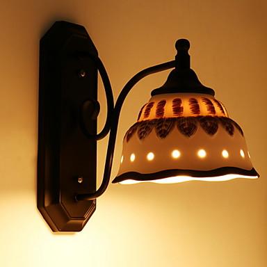 كوول الحديث المعاصر مصابيح الحائط غرفة النوم معدن إضاءة الحائط 220-240V