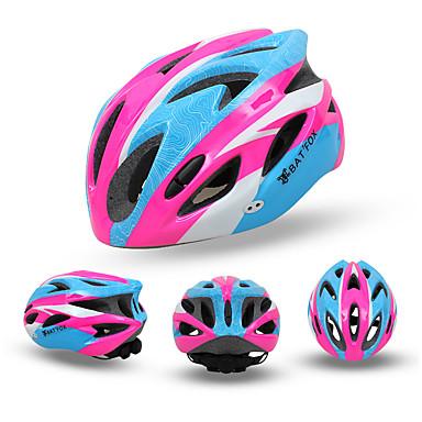 abordables Casques de Cyclisme-BAT FOX Adulte Casque de vélo 18 Aération CE Résistant aux impacts Ventilation EPS PC Des sports Vélo de Route Vélo tout terrain / VTT Activités Extérieures - Vert Bleu Rose Homme Femme Unisexe