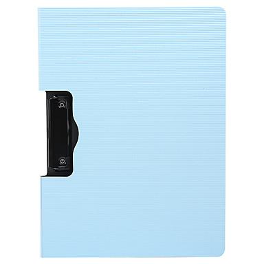 1 Pcs M&g Admn4174 File Delle Cartelle A4 Plastica Etichetta Personalizzata #07131693 Numerosi In Varietà