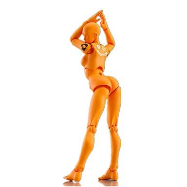 billige Action- og lekefigurer-Mannekengmodeller Posable Art Mannequin Kunstartikler Moro Kunstnerisk كلاسيكي Klassisk Høy kvalitet Gutt Gave