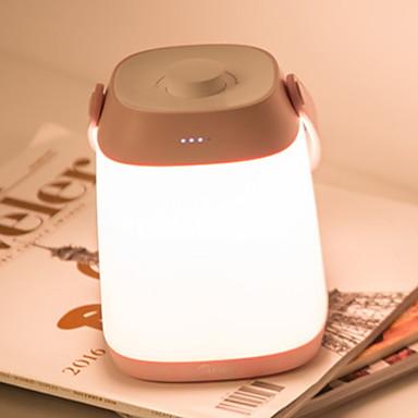 1PC الصمام ليلة الخفيفة أبيض دافئ USB إبداعي <=36 V