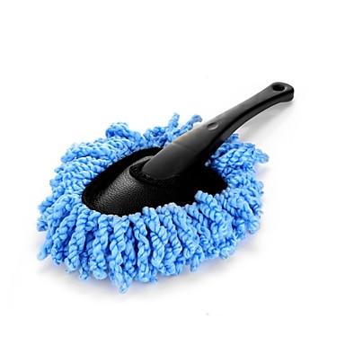 abordables Herramientas de Limpieza para Coche-Genérico, multi funcional, limpiador para el polvo, limpiador de polvo, limpie el cepillo, quita el polvo, cera, cepillo, limpie la herramienta
