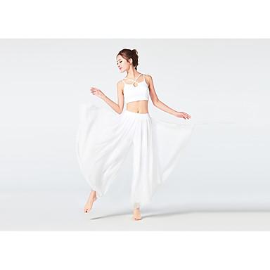 Dancewear sportivo Completi / Yoga Per donna Addestramento / Prestazioni Viscosa Più materiali Senza maniche Alto Top / Pantaloni