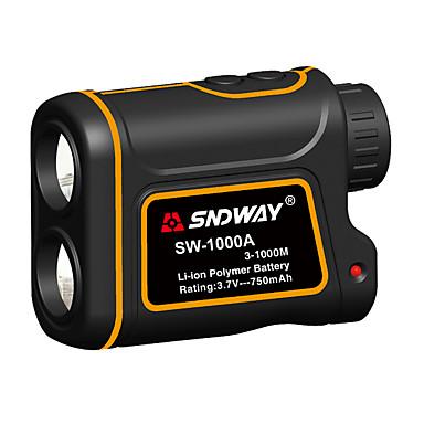 billige Verktøy og redskaper-sndway sw-1000a teleskop laser avstandsmåler 1000m laser avstandsmåler med hastighetsforskjell målefunksjon med høydeforskjell målefunksjon vanntett støvtett optisk 7 ganger usb